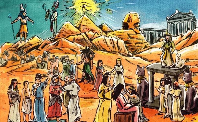 pyramids,sphinx,ancient,egypt,pharaohs,gods