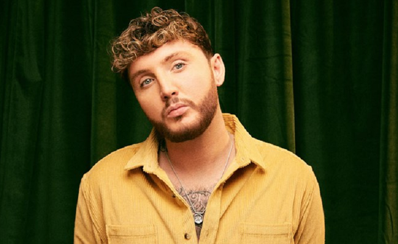 A picture of British pop star James Arthur