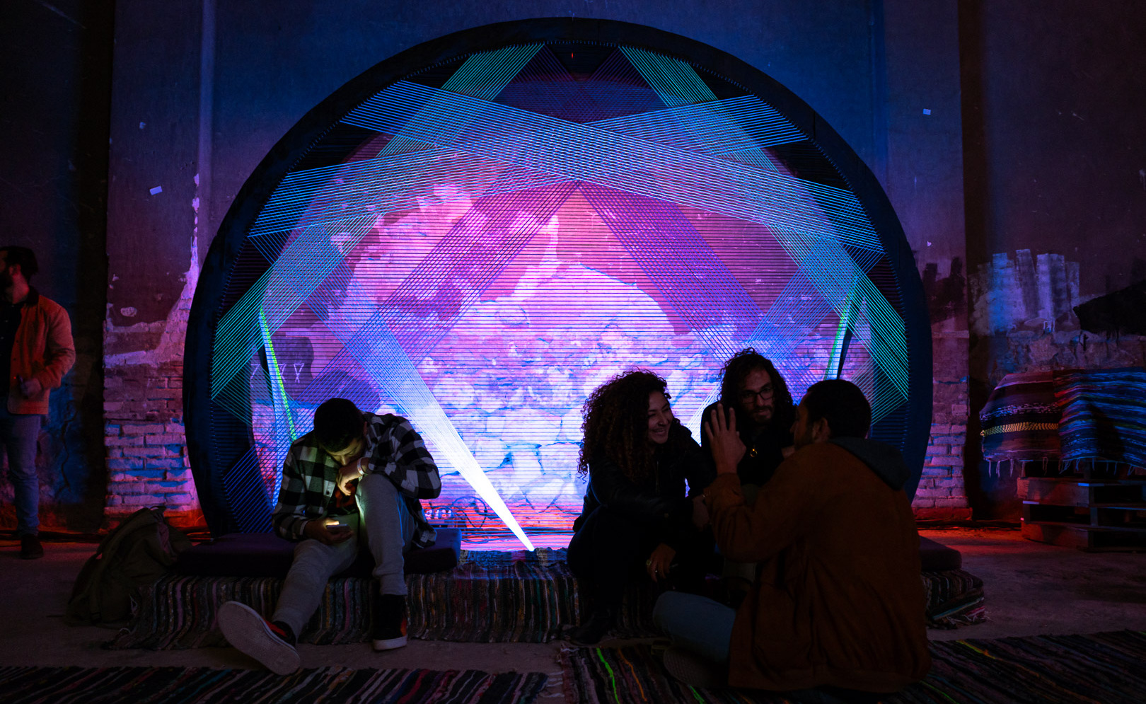 ODD Threads: Taking Over Egypt's Festivals One String Art Installation at a Time