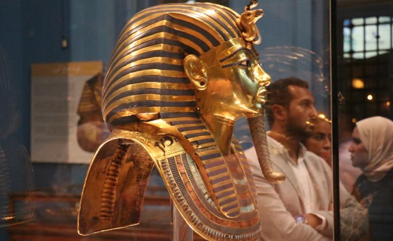 Tutankhamen Burial mask