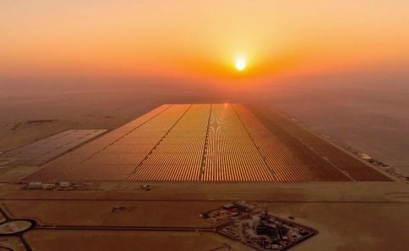 Benban solar power plant.