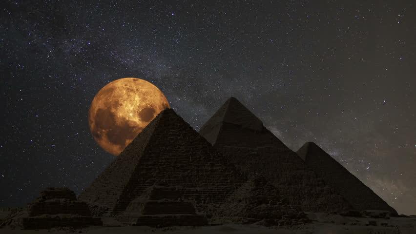 supermoon egypt