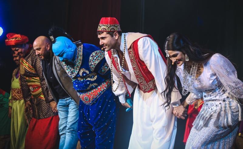 aladdin cairo show