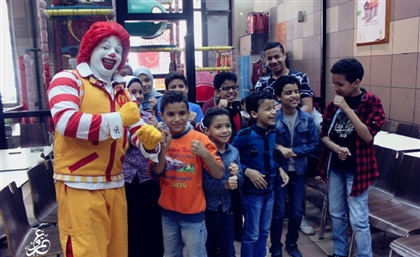 4500 Egyptian Orphans Had the McTime of their Lives