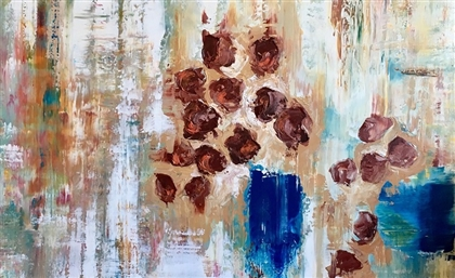Flowers, Bottles and Vivid Emotions: A Look at One of Egypt's Brightest Young Abstract Artists
