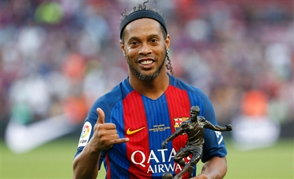 "Brazilian Football Legend Ronaldinho: ""Everything Started in Egypt for Me"""