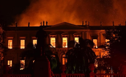 700 Egyptian Artifacts Possibly Destroyed In Brazil Museum Fire