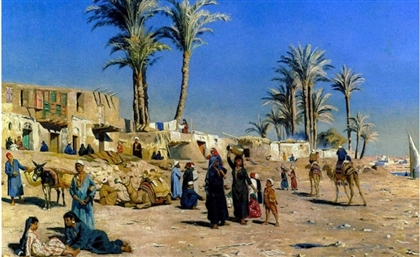 Time on Canvas: Everyday Moments of Egyptian Life in the 1800's