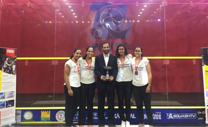 Egypt are Squash World Champions Once Again, Holding the Squash WSF Women's World Team Title