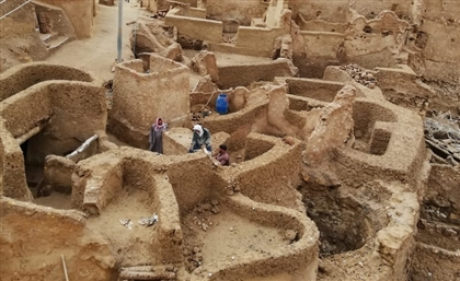 Project to Renovate Siwa Village Now Almost Complete