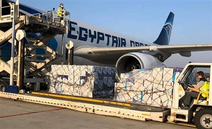 EgyptAir Cargo Plane Lands in Milan with One Million Medical Masks