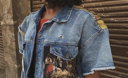Put Some Egyptian Heritage Art on Your Back with Gharbo's Denim Jackets