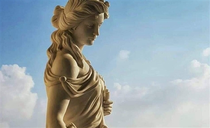Statue of Alexandria-Born Female Scientist Hypatia Set Up at New Administrative Capital