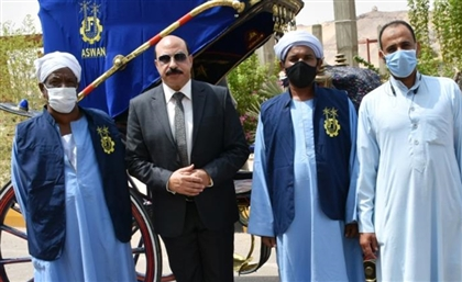 Aswan's Hantour Drivers Get a Glow-Up With New Uniforms and Carriage Covers