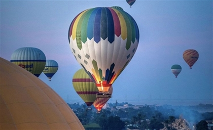 Luxor's Hot Air Balloon Trips Resume After Six Month Hiatus