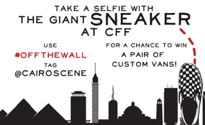 Win Customised Vans Shoes at Cairo Fashion Festival!