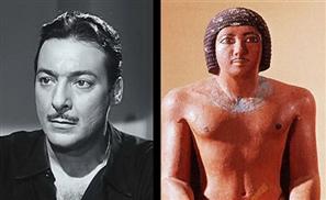 Egyptian Celebrities' Pharaoh Lookalikes