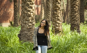 Meet the Egyptian Woman Transforming Palm Trees into Modern Art