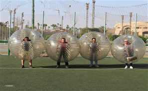 Bring Out the Beast In You with Bubble Football