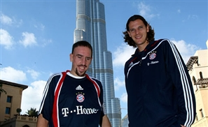 Ribery Dances in Dubai