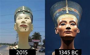 New Botched Nefertiti to be Dismantled