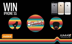 Win an iPhone 5s as #JumiaTurns2!