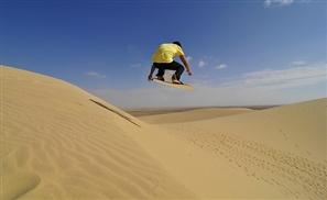 Sand Boarding Goes Pro in Egypt