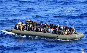 Italy Rescues Egypt Immigrants