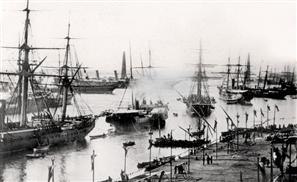 #ThrowbackThursday: The Original Suez Canal, 1869