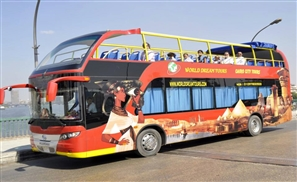 Enter Cairo's Double Decker Bus!