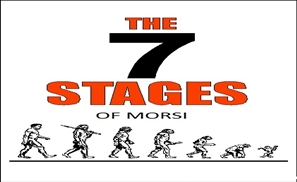 THE SEVEN STAGES OF MORSI