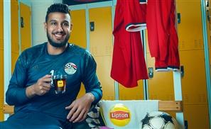 Lipton is Taking You Straight into Egypt's National Team's Locker Room in Gabon