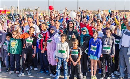 Cairo Runners Team Up with Ibni Foundation for Autism Awareness Charity Run