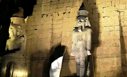 Ramses II Statue Reinstated in Luxor Temple