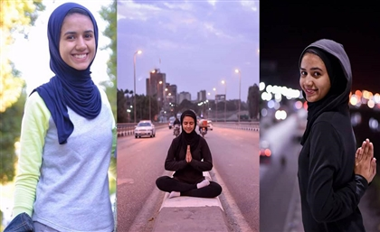 This Egyptian College Student Is Challenging the Patriarchy by Doing Yoga in the Streets of Qena