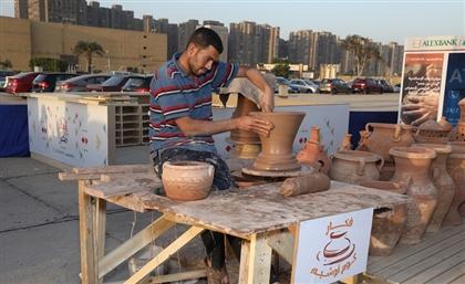 How the 'Ebda3 Men Masr' Initiative is Preserving Egypt's Authentic Handicrafts