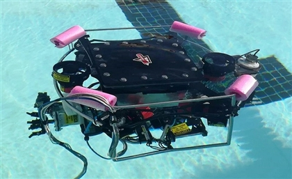 8 Alexandria University Graduates Develop Award-Winning Automated Submarine