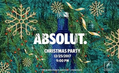 Absolut Vodka Takes Over Basement Urban Pub For a Wild Christmas Escapade