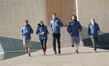 These 4 Egyptian Athletes Are Walking Across Egypt to Raise Awareness on Population Growth