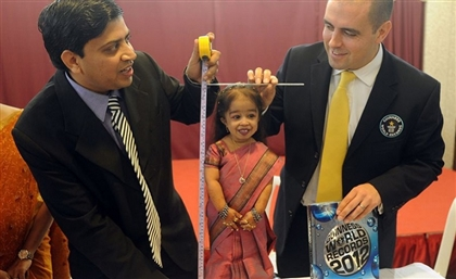 The World's Tallest Man And Smallest Woman Are Coming To Egypt to Promote Tourism