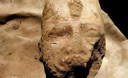 Statue of Ramses The Great Unearthed in Aswan