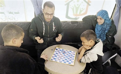The Egyptian Initiative Sending Buses with Games, Medical Check-Ups, More for Homeless Children