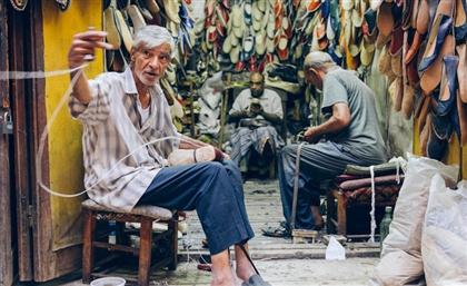 Meet the British Photographer Who Captured Darb Al Ahmar's Forgotten Craftsmen