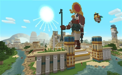 Minecraft Has Just Released an Ancient Egyptian Mash-up Pack