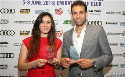 Egyptian Squash Superstars Crush the PSA Tournament in Dubai