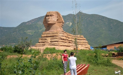 Egypt Turns to UNESCO to Get Rid of Fake Sphinx in China