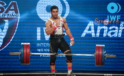 Egyptian Weightlifter Takes Gold at the Mediterranean Games
