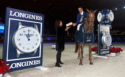 Egyptian Equestrian Takes First Place at the Grand Prix of Paris