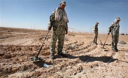 NATO Discusses De-mining Program for Egypt's El-Alamein