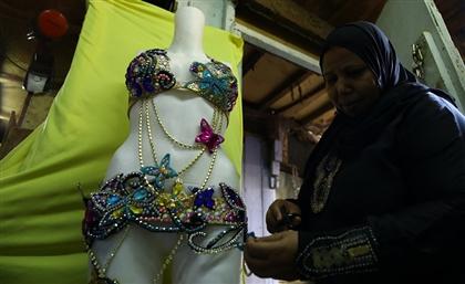 Rags for Riches: Meet Sayeda Eisha's Veteran Belly Dance Dress Designers